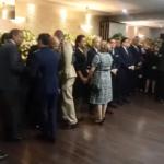 Danilo Medina en funeraria