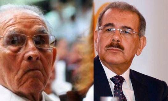 Detalles de velatorio del padre de Danilo Medina