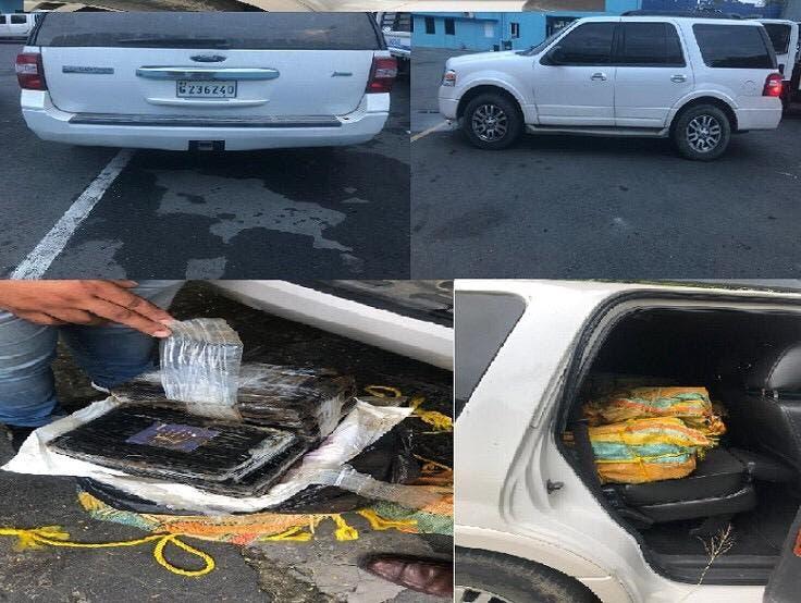 Bonao: Llevaba 390 paquetes de droga en jeepeta, cuando se dio cuenta que la DNCD llegó al restaurante donde estaba, dejó el vehículo abandonado
