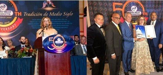 Empresa de capital dominicano en EE. UU. celebra 50 años sirviendo sus productos