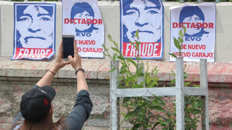 Evo Morales fotos