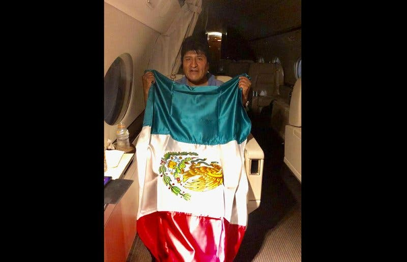 El largo periplo del expresidente Evo Morales desde Bolivia a México