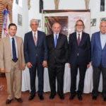 Foto 1, Edwin Espinal, Mariano Mella, Dennis Simó, Juan Tomás Tavares Kelner y Bernardo Vega.