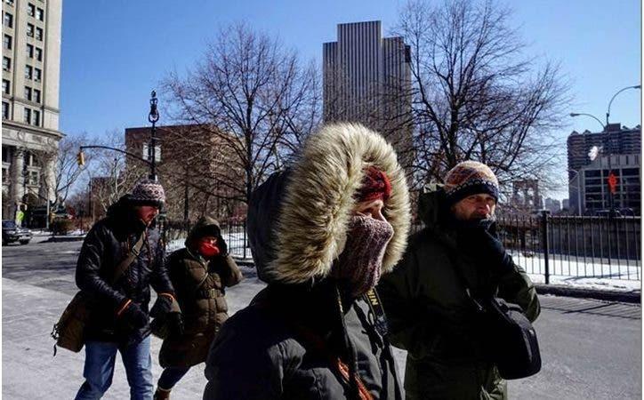 Frío ártico azota NY frena salida dominicanos a las calles_ NYC activa código