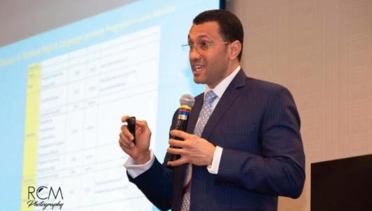 El director ejecutivo de DR-TESOL, Juan Valdez.