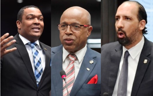 Legisladores opositores