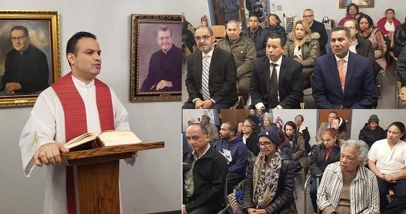 Misa en NY por novenario padre Presidente, no asisten dirigentes PLD ni funcionarios