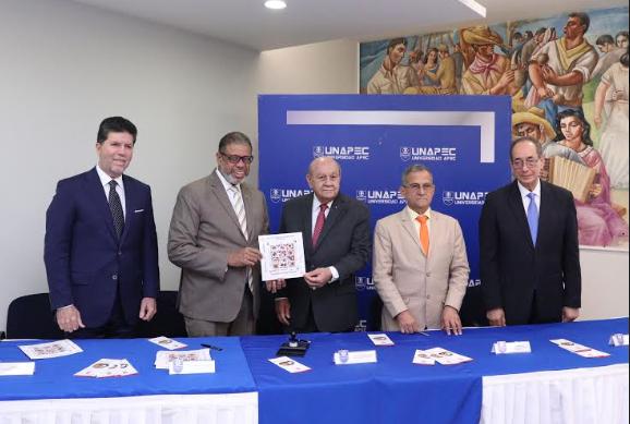 Inposdom y Unapec ponen a circular emisión postal alusiva a la gastronomía dominicana
