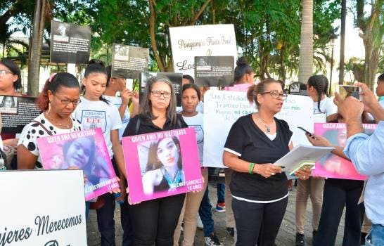 Raquel Rivera, coordinadora general del movimiento feminista Hermanas Mirabal.