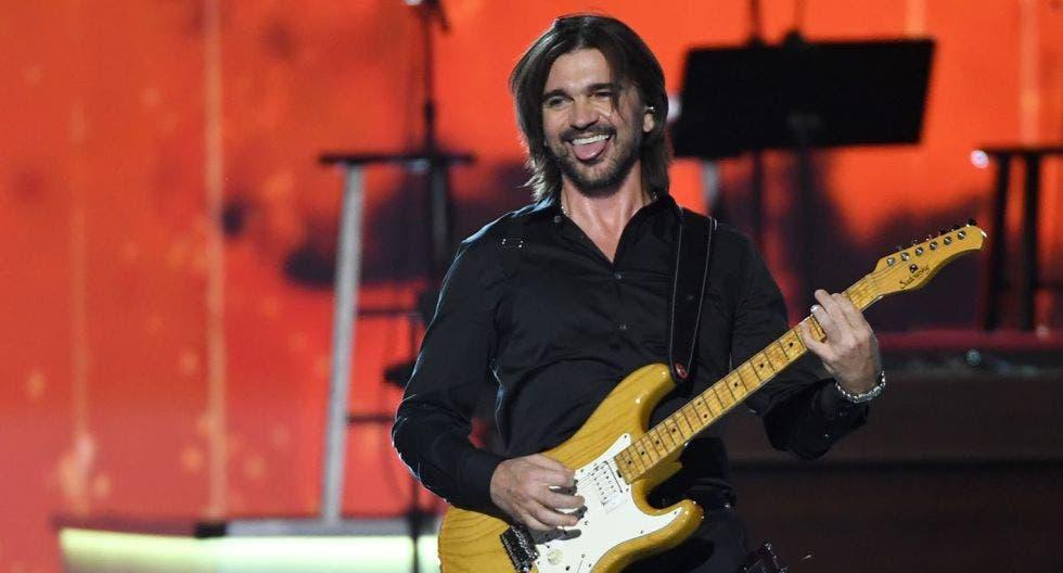 Juanes celebra a lo grande 20 años de carrera