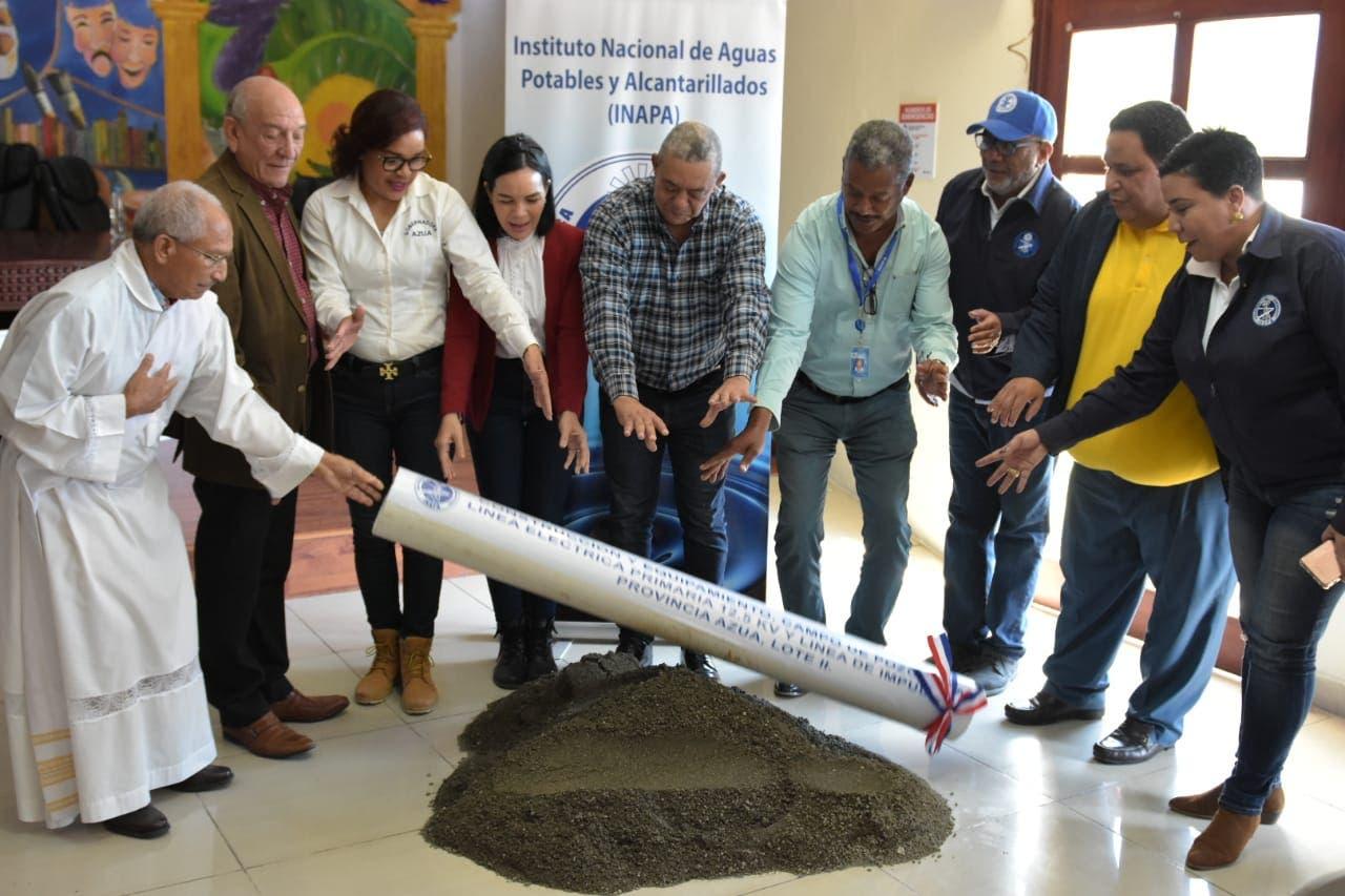 El INAPA destinará cerca de 568 millones para optimizar servicios en provincias de la zona sur del país
