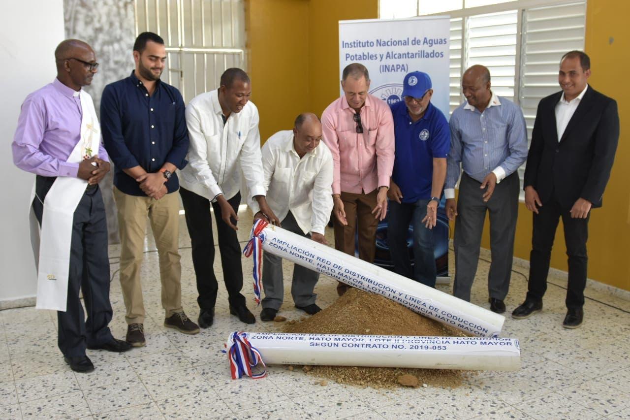 INAPA invertirá más de 150 millones en obras para la provincia Hato Mayor