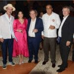 Principal 1 Litto Gómez, Nirka Reyes, Hendrick Kelner, Luis Lee Ballester y Urs Schnider.