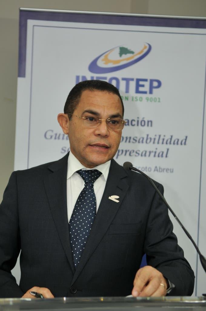 Rafael Ovalles, director General INFOTEP