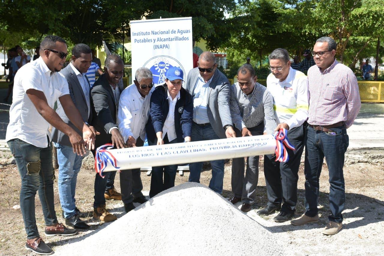 El INAPA invierte cerca de RD$160 millones en la provincia Bahoruco