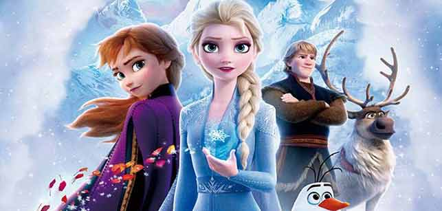 """El estreno de """"Frozen II"""" no encuentra rival en Estados Unidos y Canadá"""