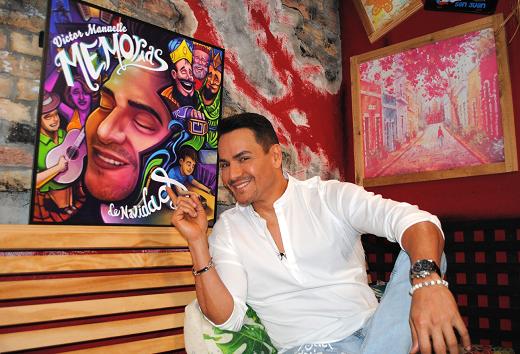 Victor Manuelle quiere transmitir las tradiciones navideñas con nueva música
