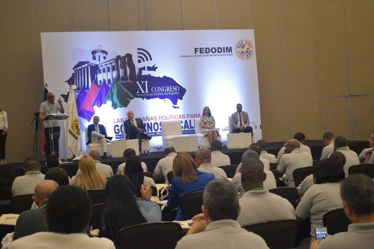Más de 100 alcaldes son formados por Fedodim en su XI Congreso en Punta Cana