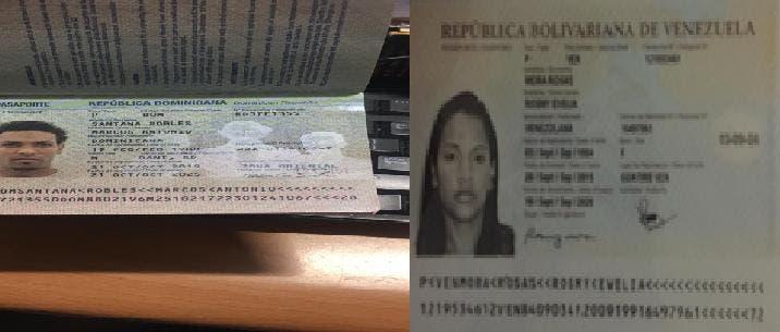 DNCD: Un dominicano y una venezolana pretendían sacar y entrar cocaína del país