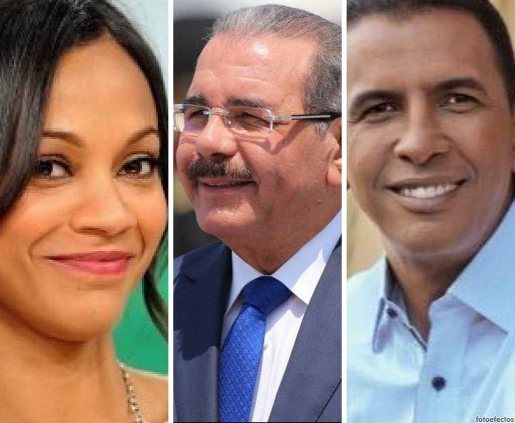 Danilo Medina, Zoe Saldaña y Domingo Contreras en la lista de los más influyentes en la acción climática