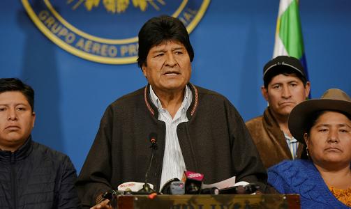 México concede asilo al expresidente boliviano Evo Morales