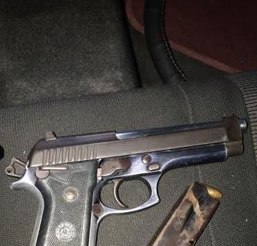 Pistola ilegal