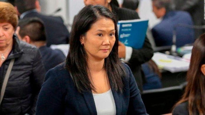El Constitucional de Perú vota a favor de la liberación de Keiko Fujimori