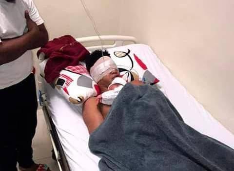 Joven deportista aun interno en un centro medico privado de La Romana