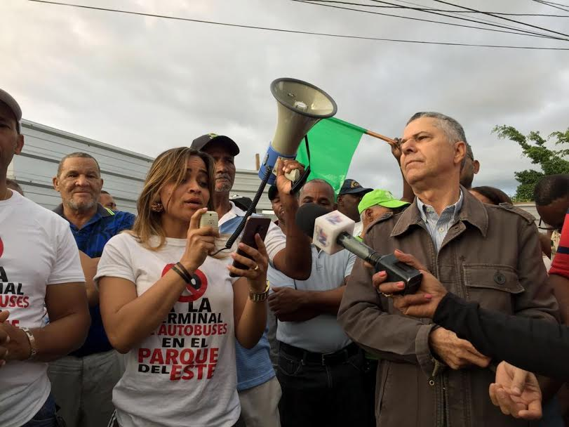 Activista social valora decisión del TC que ordena paralización de Terminal de Autobuses en el Parque del Este