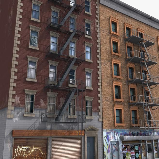 Varios edificios peligrosos para transeúntes están en vecindario de dominicanos en Nueva York
