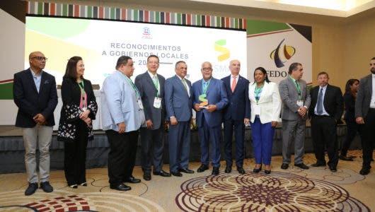 Sismap Municipal reconoce a gobiernos locales mejor calificados; Alcaldía de Santiago gana primer lugar