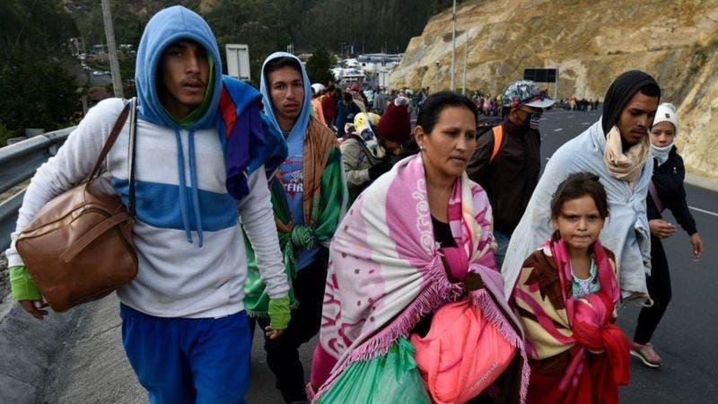 La crisis en Venezuela causó la mayor ola migratoria de la historia reciente en América Latina.