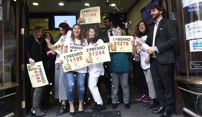 """""""El Gordo"""" de la Lotería de Navidad tiene acumulado 2.380 millones de euros"""