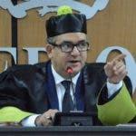 Presidente del  Tribunal Superior Electoral (TSE) durante una sesión. Foto Pedro Sosa