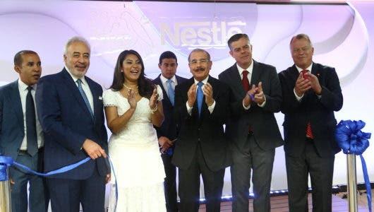 Con la presencia de Danilo Medina Nestlé Dominicana inaugura oficinas corporativas