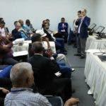 a Junta Central Electoral (JCE) realizó un encuentro este sábado con delegados técnicos y suplentes de los partidos, agrupaciones y movimientos políticos reconocidos para el proceso para el proceso del próximo año.  Hoy/Fuente Externa 1/12/19