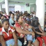 El pais.Grafica del Hospital Infantil Dr. Robert Reid Cabral donde se encontraban decenas de pacientes en la mañana de hoy .Hoy/Pablo Matos        19-05-2014