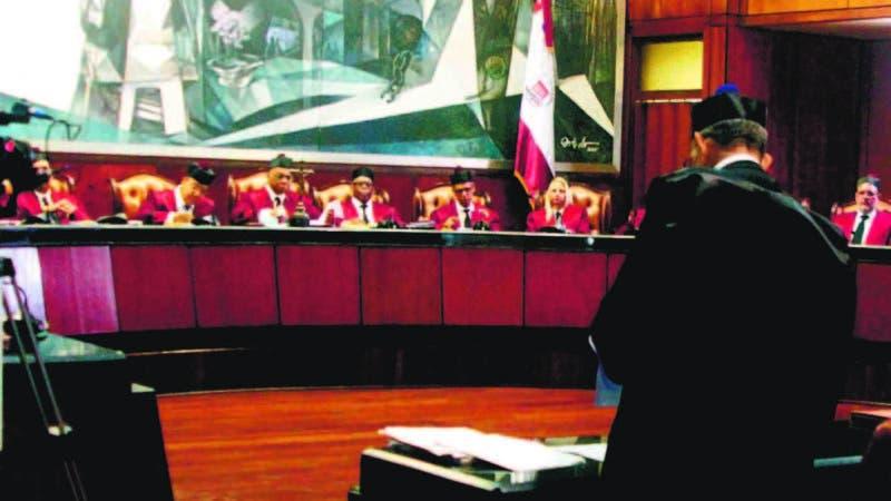 Los nuevos jueces del tribunal constitucional en foto : Los nuevo jueces HOY Duany Nuñez 10-6-2019