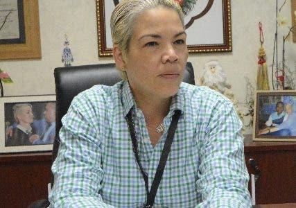 Josefina Capellán,  vocera de la Dirección Nacional de Control de Drogas DNCD durante una entrevista en la Dirección Nacional de Control de Drogas DNCD Santo Domingo Rep. Dom. 5 de diciembre del 2019. Foto Pedro Sosa