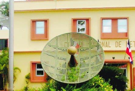 Fachada de la Oficina Nacional de Meteorología (ONAMET), fuente externa 28/06/2010