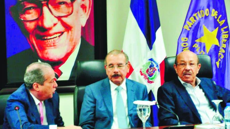 Reunion del Comite Politico del PLD.   Hoy/Pablo Matos 9/12/19