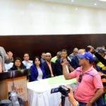 El partido La Fuerza del Pueblo presento a los integrantes de la dirección provincial la cual fueron juramentados por el coordinador general profesor José izquierdo. Hoy Wilson Aracena