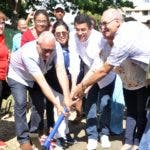 Alcaldía del Distrito Nacional inicia etapa de remozamiento del parque las praderas, en un acto encabezado por el alcalde David Collado. Hoy/ Arlenis Castillo/12/12/19.