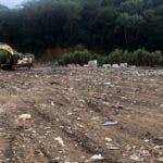 El vertedero de Jarabacoa ya fue apagado. Fuente externa 08/12/2019