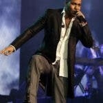 "Anthony ""Romeo"" Santos, lead singer of New York-based Dominican bachata group Aventura performs during his group's ""The Kings, Live""  tour in the Puerto Rico Coliseum in San Juan, late Thursday, Dec. 4, 2008.  Aventura debuted in the first of five sold-out shows, a new record in the Caribbean island. (AP Photo/Andres Leighton)"
