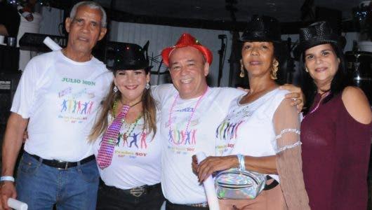 Música, juegos y diversión en encuentro de socios Los Prados