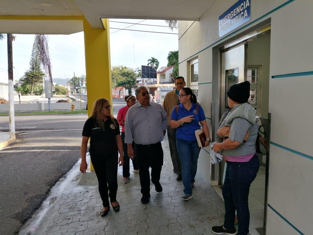 Se produce incendio en el hospital Dr. Pedro Emilio de Marchena de Bonao