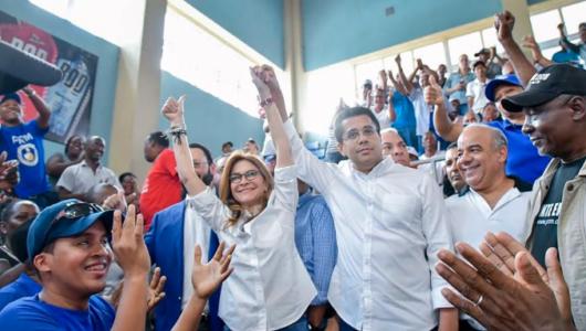 """Carolina Mejía ganaría alcaldía del Distrito Nacional con """"amplia ventaja"""""""