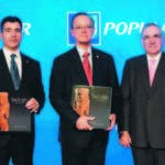 Christopher Paniagua, Manuel A. Grullón y Manuel García Arévalo