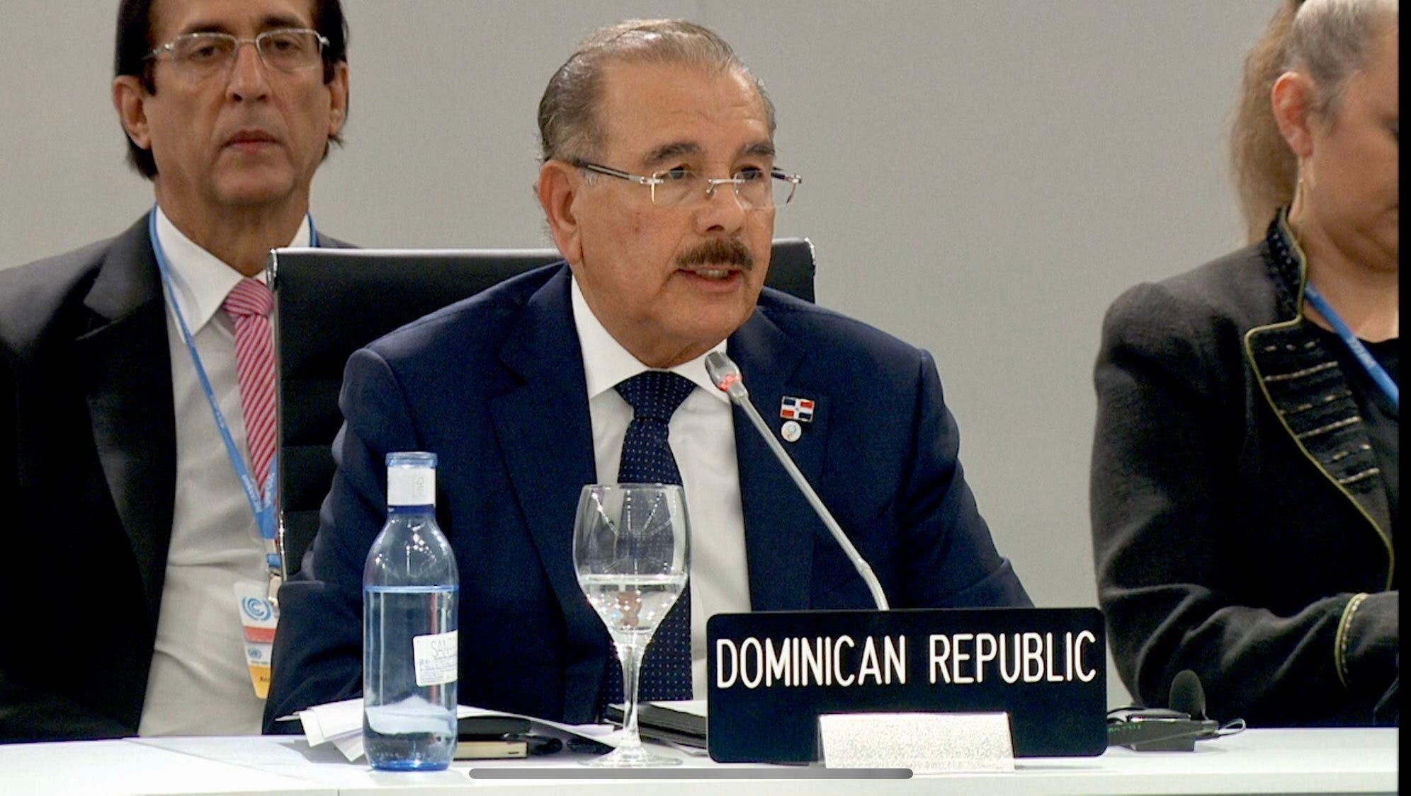 Lea aquí el discurso de Danilo Medina en cumbre sobre el Cambio Climático
